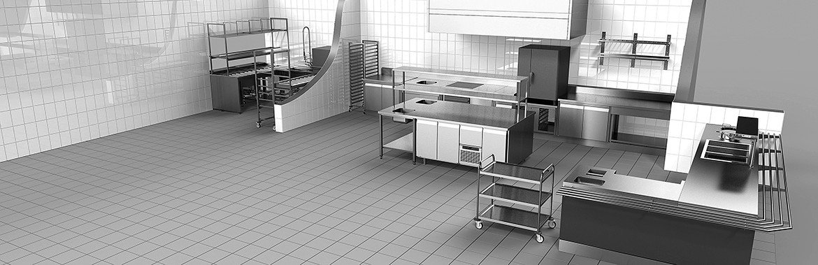 Equipment for professional kitchens