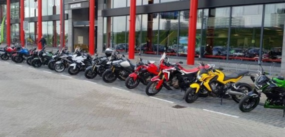 Motoport Rotterdam Motorcycle Showroom