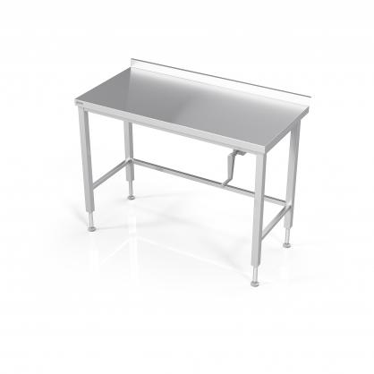 Reguliuojamo aukščio stalas su rėmu