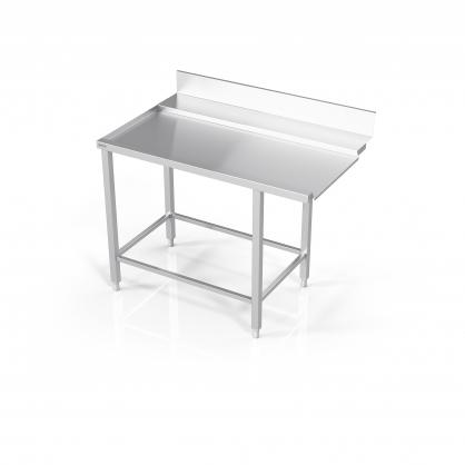 Stalas prie indaplovės su rėmu modulinėm lentynom
