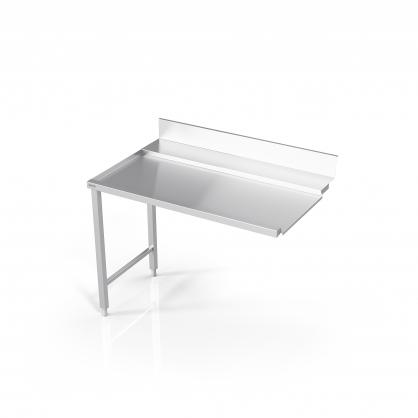 Stalas prie indaplovės su rėmu