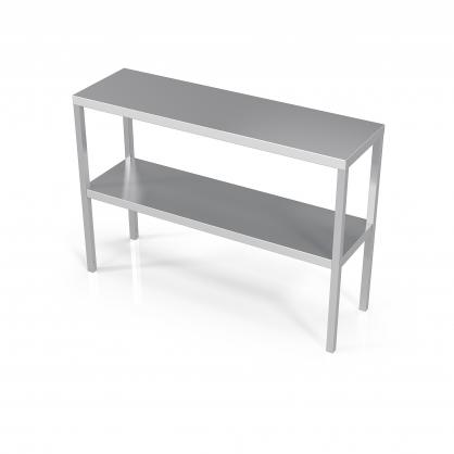 Pastatoma lentyna darbo stalams dviguba