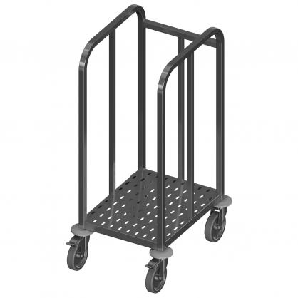 Padėklų vežimėlis