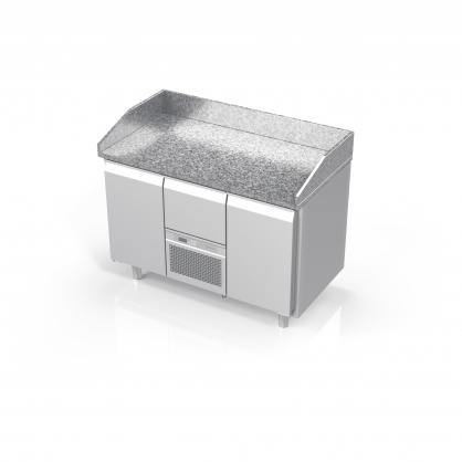 Šaldomas stalas su granito stalviršiu