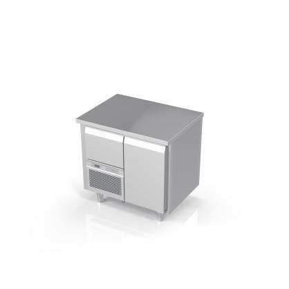 Šaldomas stalas 1 durelių, -20 ... -18 °C