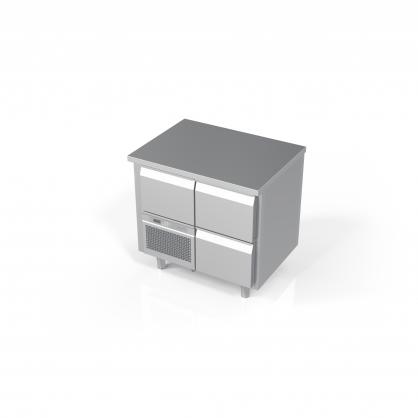 Šaldomas stalas 3 stalčių, -5 ... +8 °C