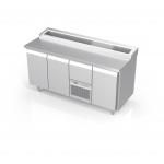 Kühltische und Warmgeräte