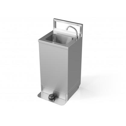 Bekontaktė mobili rankų plovimo stotelė